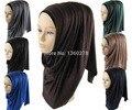 (12 шт./лот) мусульманских джерси хиджаб женщин мода блеск shimmer шаль шарф хиджабы JLS122