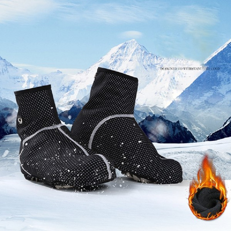 1 Pair Mesh Sports Outdoor Shoes Covers, Winter Warm Shoes C