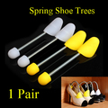 Spring Shoe Trees Shoes Plastic Fixed Fits Support Stretcher Shaper 1Pair