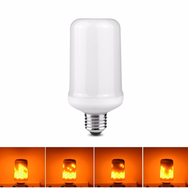 110 v 220 v e27 e26 led lampe feu flamme effet led ampoule. Black Bedroom Furniture Sets. Home Design Ideas