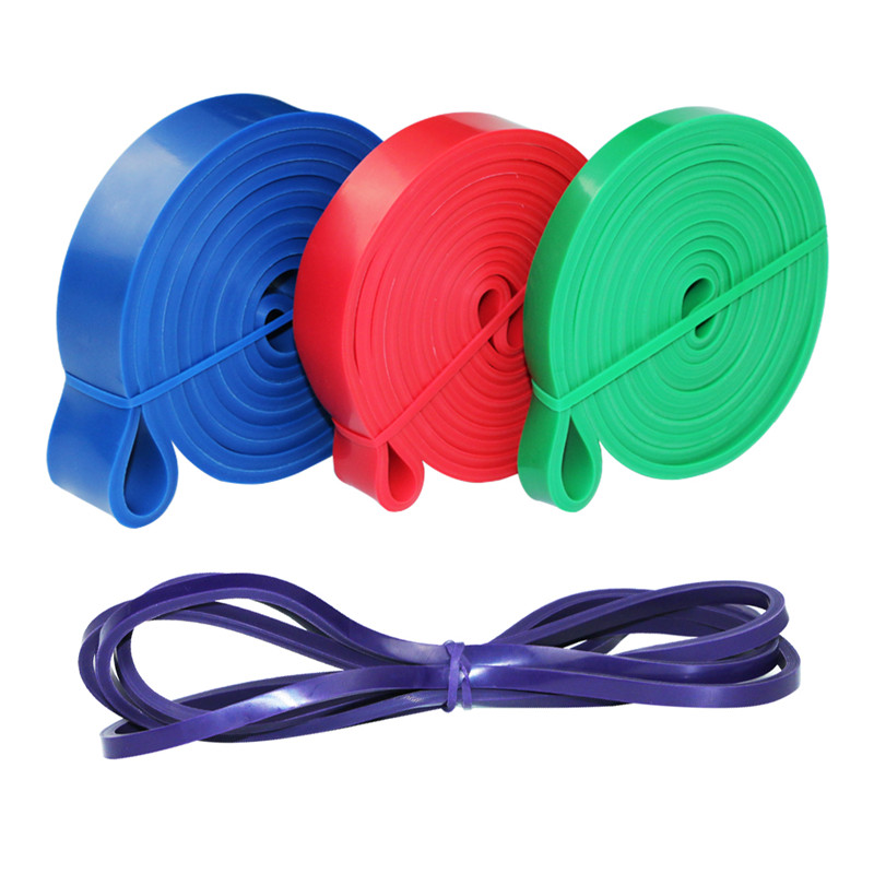 Fitness-Equipment Loop-Strap Latex-Band Resistance-Bands Rubber Strength Training Power