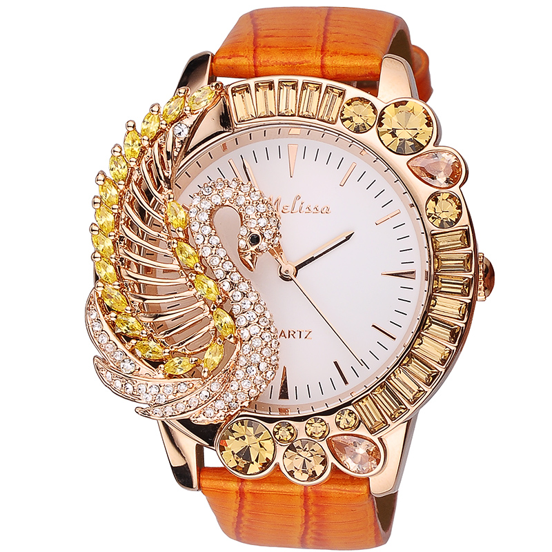 Melissa Gorgeous Jewelry Watches for Women Personalized Big