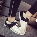 New Man Shoes Lace Up Brand Designer Men's Shoes Fashion Outdoor Male Footwear for Mens Black Blue Flat Shoes Mixed Color