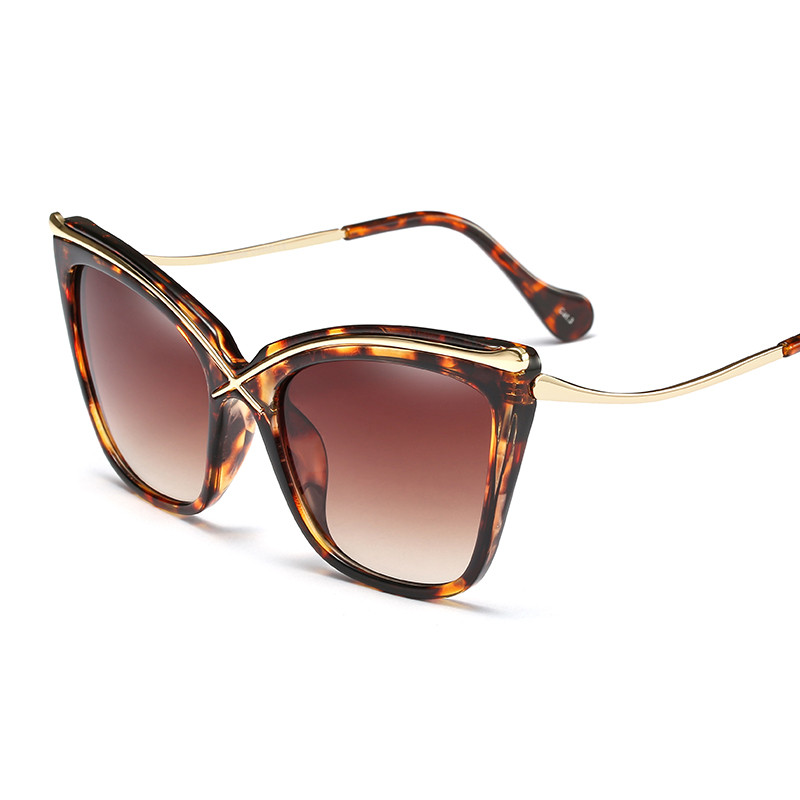 2018 Hot Sale Fashion round cateye oval street shot retro Men women uv400 Sunglasses Vintage Brand star Designer Ladies PC-130