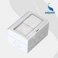 (SPL AS2S)15A 250V Wall Electric Stocket & Switch / One Australian Socket & Two Switch in One Waterproof Box