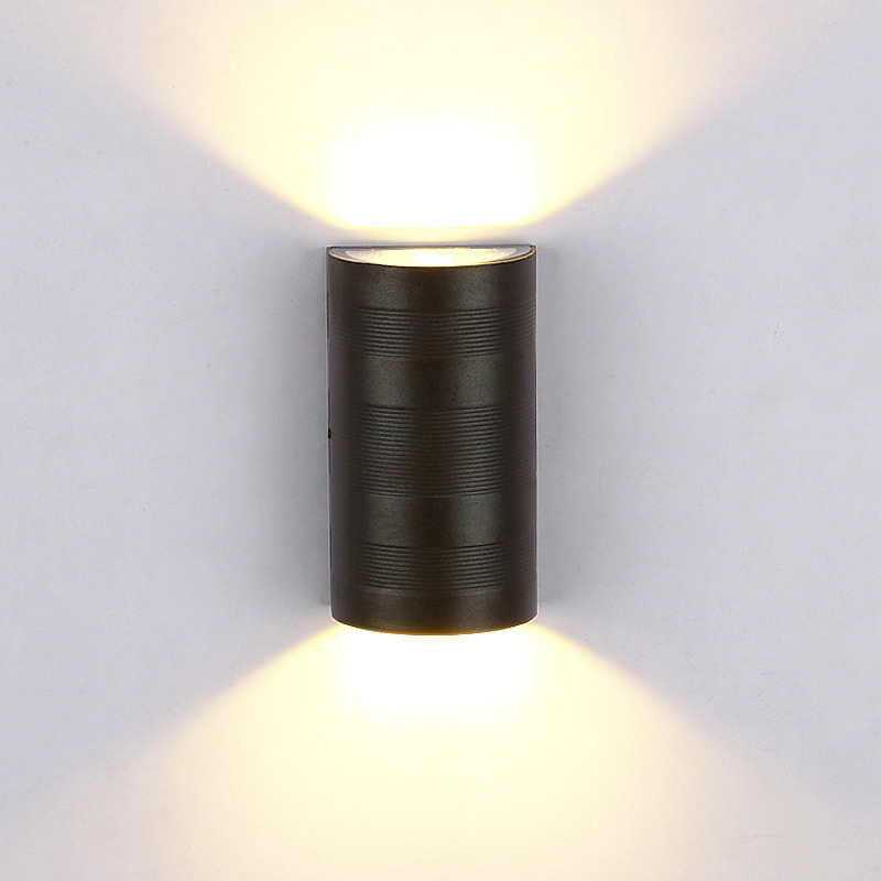 Modern LED outdoor wall lamp Porch light COB 6w Waterproof IP55 for garden decoration up and down beam wall sconce 1150