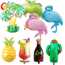 Birthday Balloons Adult Party Coconut-Palm-Tree/fruit Air-Globos Kids