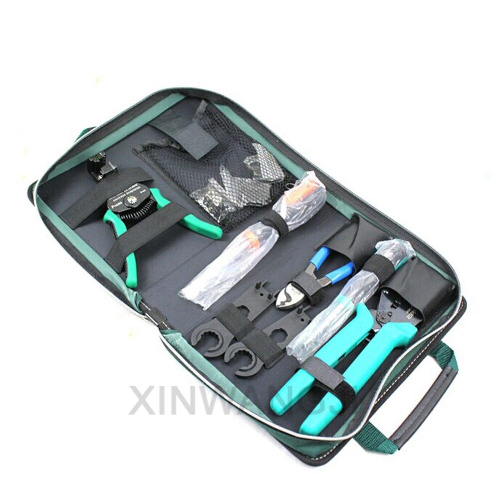 Pro'skit 1pk PK 2061 Energia Solare linea di Taglio di Precisione di Piegatura Stripping Tools Kit Set Di Strumenti Appositamente Progettato Per I Pannelli Solari - 2