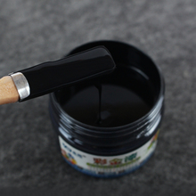 100 г черная краска, лак на водной основе, мебель, железные двери, деревянные двери, изделия ручной работы, стены, краски ing