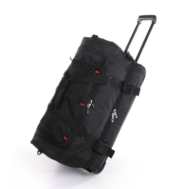 Aliexpress.com : Buy new 22 30 Inch large weekend bag big trolley ...