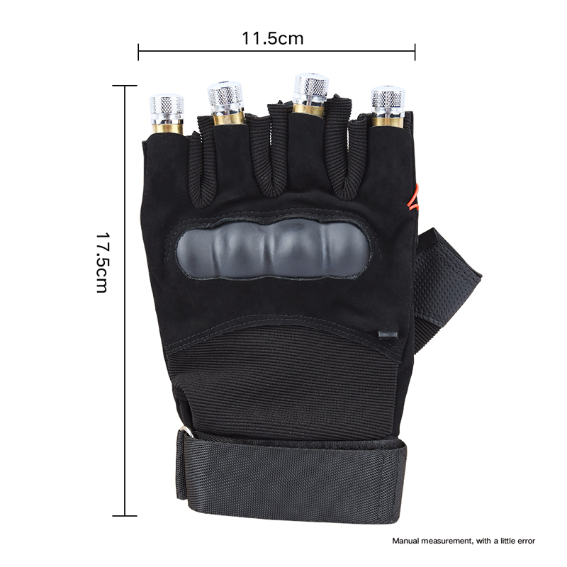 Cool Finger - Laser Gloves - Flashlight - for Party - Concert - Clubbing - Wedding - Birthday - Party - Outdoor Night Activities(5)