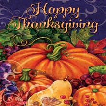 """Happy Thanksgiving """" – Double Sided, Garden Decor 30*45cm Wedding Decorative Flag For Home Party decorationPa"""