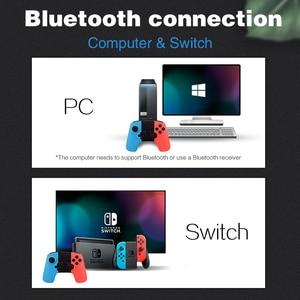 Image 3 - Veri kurbağa oyun denetleyicisi Nintendo anahtarı denetleyici kablosuz Gamepad PC anahtarı denetleyicisi Bluetooth Joystick