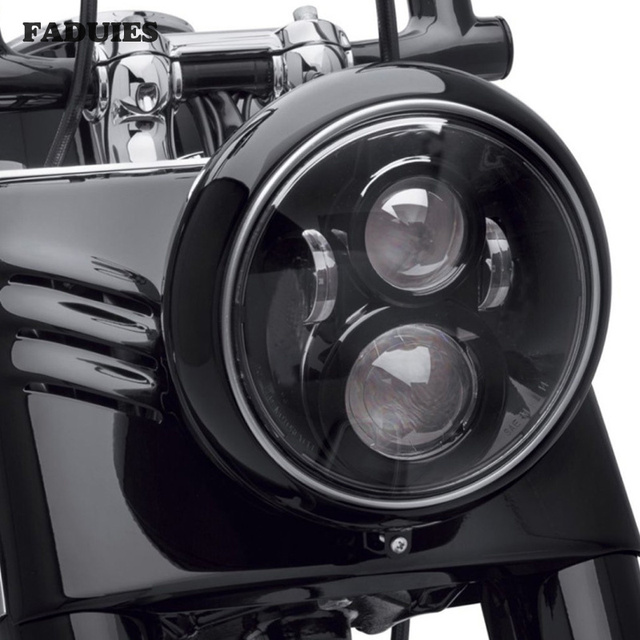7 Inch LED Headlight For Harley Motorcycle Tour FLD  Softail Heritage Street Glide Road King Electra Glide for Jeep Wrangler