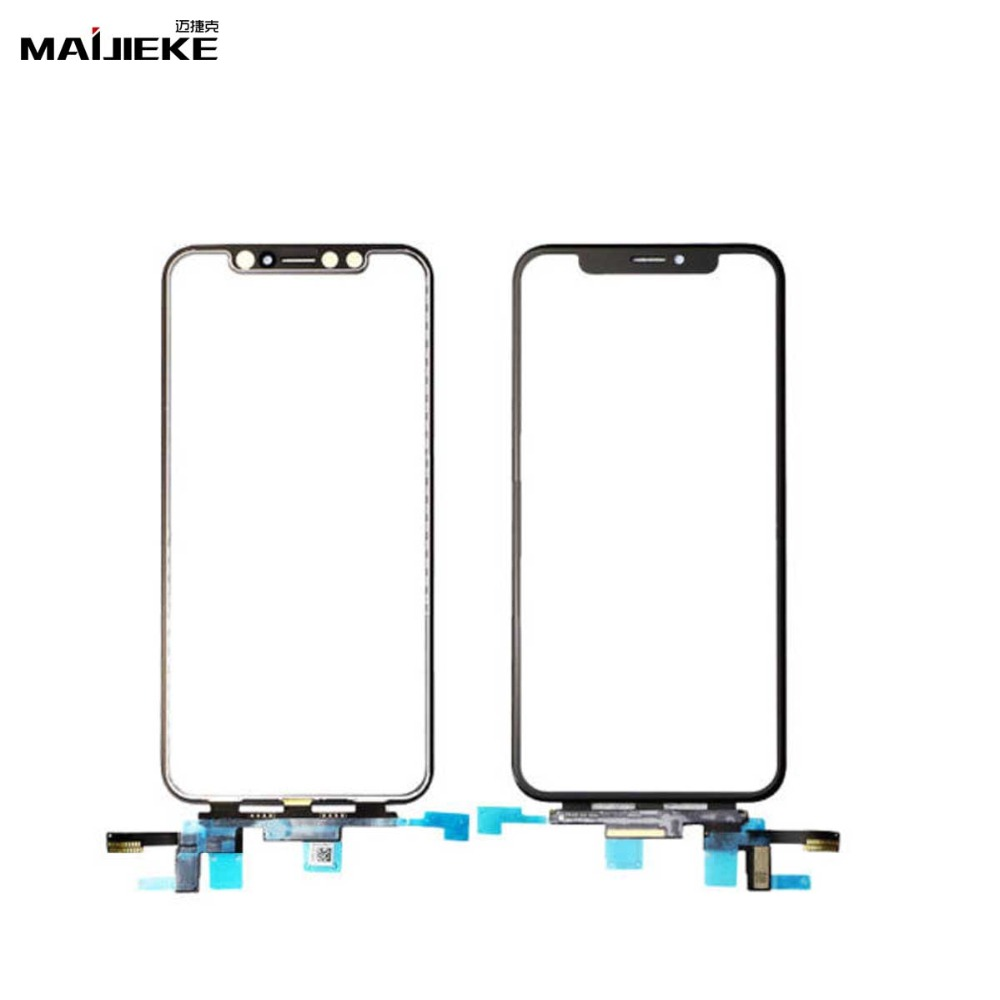 Ori Front Touch Screen Glass Touch Panel Digitizer Replacement iPhone X XS Max XR LCD Outer Touch Screen Digitizer Repair Part