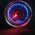 Мотоцикл модификация индуктора цифровой индикатор 130000 rmp спидометр универсальный LED двойной цвет мотокросс инструменты
