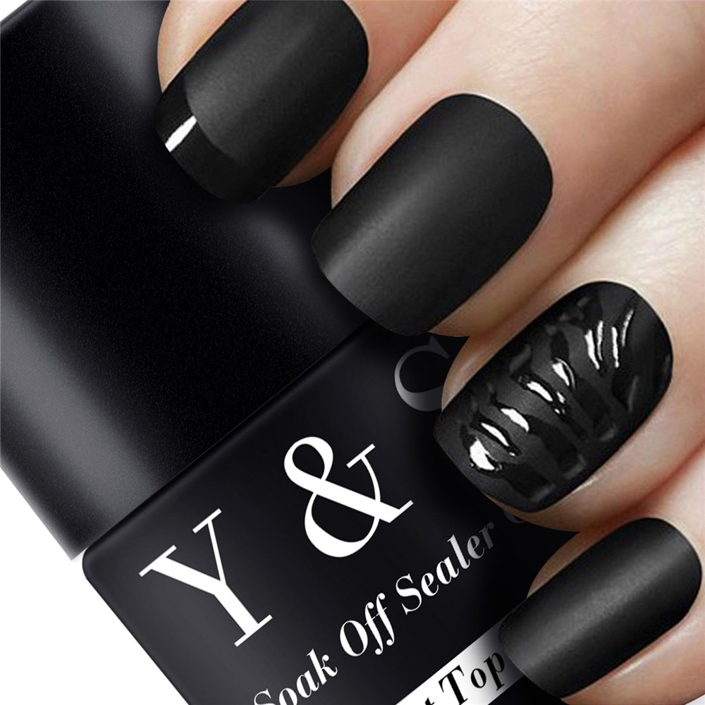 Best Nail Art Top Coat : Ml uv soak off magic super matt top coat transfiguration nail art