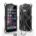 Для iPhone 6 6 S Plus case крышка Новая Версия Саймон ТОР ЖЕЛЕЗНЫЙ ЧЕЛОВЕК Металл Алюминий Роскошные Жесткая Броня Телефон Случаях с судорога кольцо