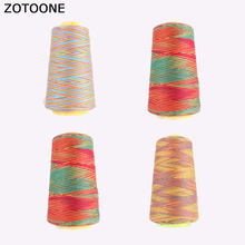 ZOTOONE Colorful Sewing Machine Thread Set Nylon Quilting Embroidery Spool Applique on Clothing Accessories