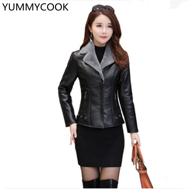 Khaki Femmes Plus Des Veste À F5 Nouvelles gray Manches Slim Hiver De Longues Velours Cuir Mode Coréenne Court Épaississement Chaud En tHBq5nxzw