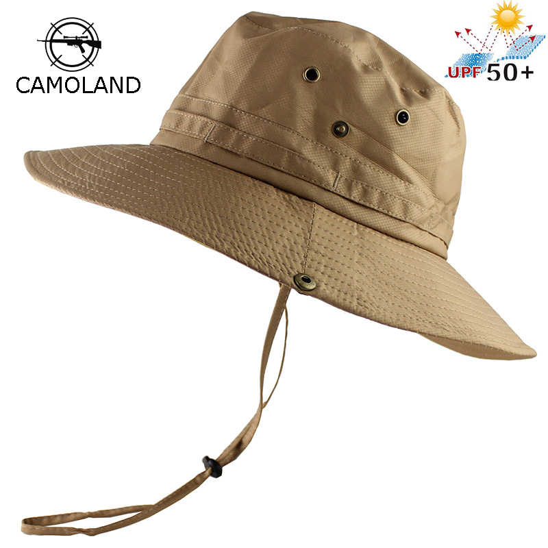 42bc358bb3e UPF50+ Sun Hat Women Men Mesh Bucket Hat Summer Fishing Hiking Cap Wide  Brim UV Protection