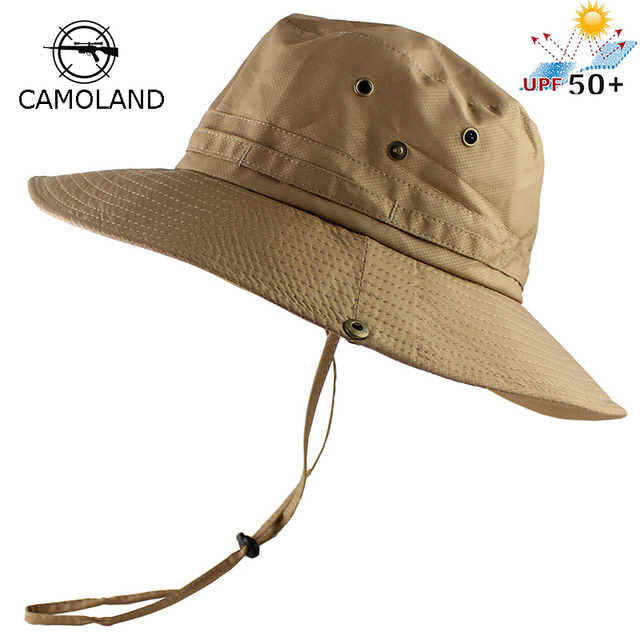 ae0a10249d21a UPF50+ Sun Hat Women Men Mesh Bucket Hat Summer Fishing Hiking Cap Wide  Brim UV Protection Flap Hat Breathable Beach hat Outdoor