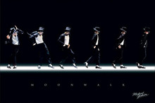 Novelty Print Your Own Picture On Room Wall Michael Jackson Moonwalk Poster Wall  Sticker By 27x40cm