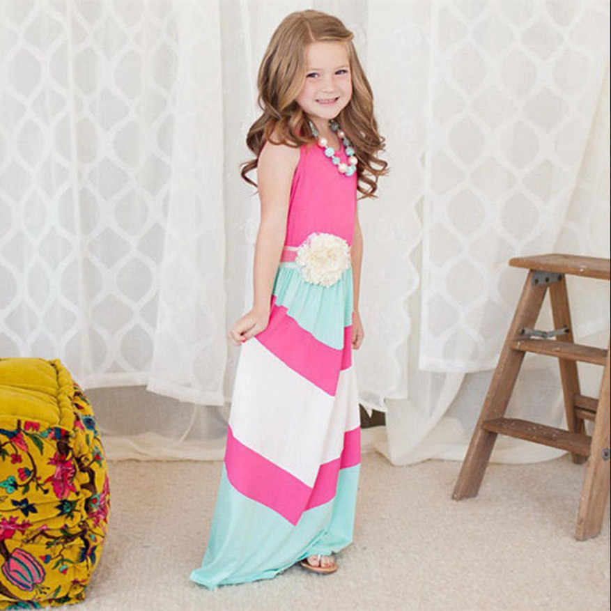 2dd6f62411 ... 2019 summer matching mother daughter dresses clothes long maxi dress  family look mommy and me clothes ...