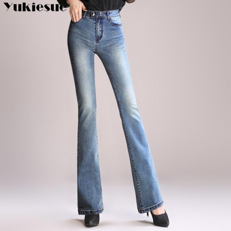 Skinny Jeans Woman Pantalon Femme Denim Pants Strech Womens Flare Jeans With High Waist Women's Jeans High Waisted Plus Size