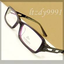 Roxo   Preto Acetato Retangular Estreito DX10136 Prescrição Óptica ÓCULOS  FRAMES Homens Óculos Mulheres Óculos RX 20fe49504f
