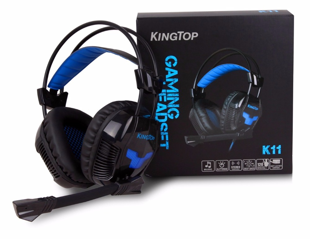 KingTop Computer Gaming Headset for PS4 37e5ffaefd86