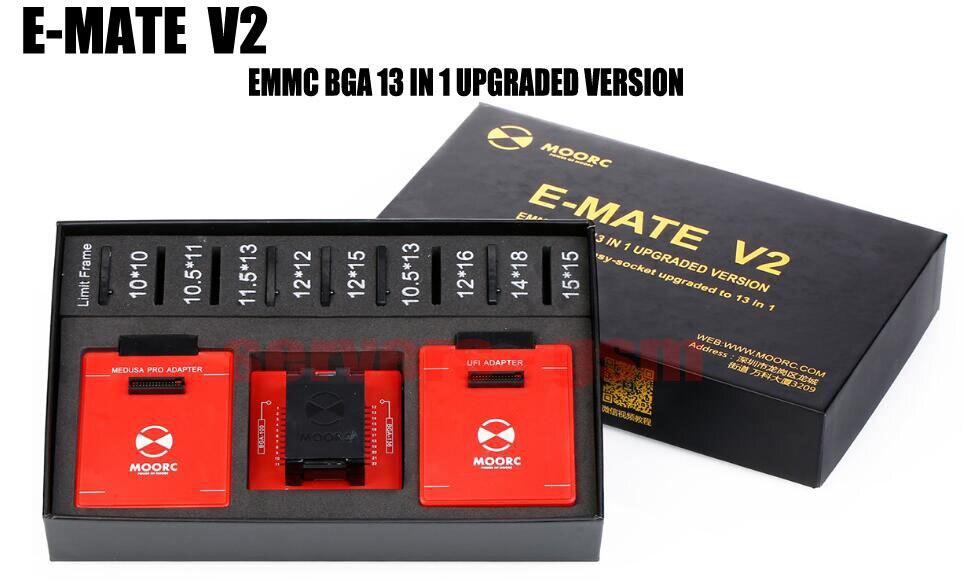 E-MATE V2 upgrade version E-mate box pro and Easy-socket upgrade to 13 IN1 Support BGA100 136 168 153 169 162 186 221 529 524E-MATE V2 upgrade version E-mate box pro and Easy-socket upgrade to 13 IN1 Support BGA100 136 168 153 169 162 186 221 529 524