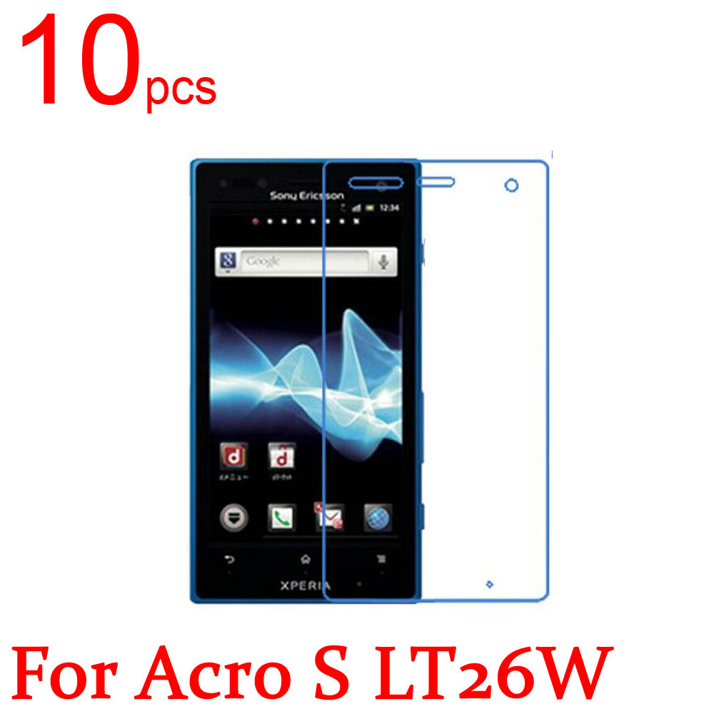 10pcs Ultra Clear Matte Nano Anti-Explosion LCD Screen Protector Film Cover For Sony Xperia Acro S LT26W LT26i Protective Film