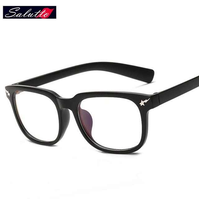 SALUTTO Ultraleve de Nerd Vidros Ópticos Para PC Armações de Óculos de Olho Para Homens E Mulheres Montures de Luneta