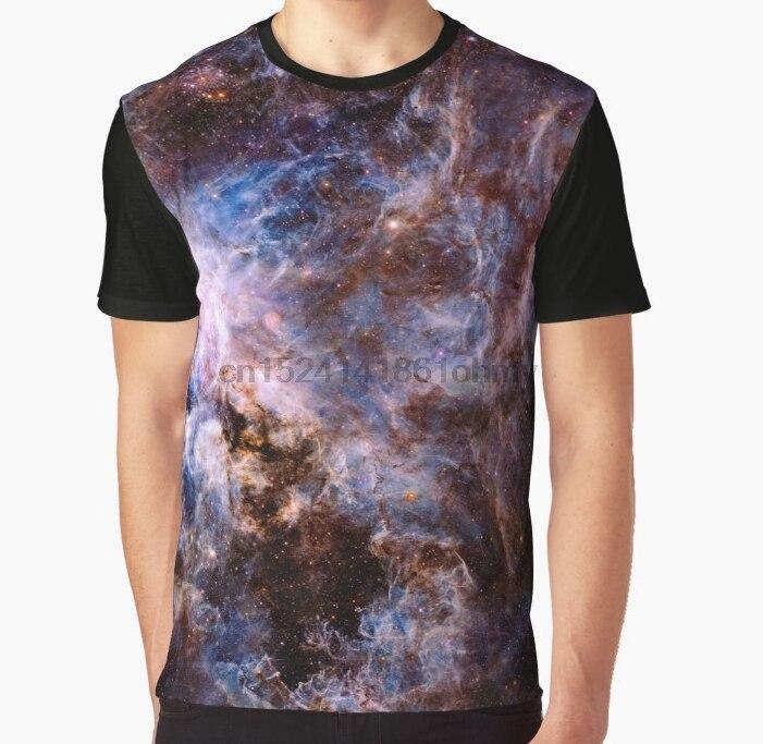 Populair Merk All Over Print 3d Vrouwen T-shirt Mannen Grappige T-shirt De Tarantula Nebula Grafische T-shirt Uitgebreide Selectie;