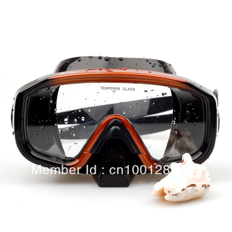 Máscara de buceo de silicona de alta calidad de una ventana - Deportes acuáticos - foto 3