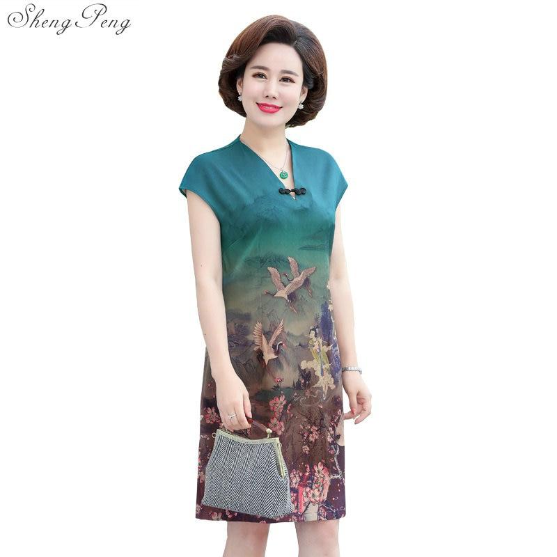 Summer Dresses For Older Women Dresses Middle Aged Women