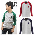 Hot spring autumn children long sleeve t shirts boys & girls fashion kids tops tees Free shipping