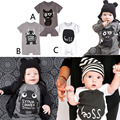 Bodysuit bebê Roupas Bebê Recém-nascido Menino Customes Criança Macacão Bebe conjuntos de Roupas Trajes de Halloween Para O Bebê Menino