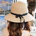 High Quality Women Summer Hat Straw Hats Fashion Wide Brim Design Sun Hat Beach Headwear Wholesale