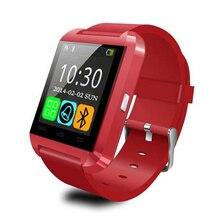 2017 Smart Watch U8 Bluetooth Smart Smartwatch Sports Passometer Alarm Message Reminder Sleep Tracker Smartwatch Red Black White