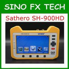 Genuine SH-900HD Sathero DVB-S2 Digital Satellite Finder Medidor com Spectrum Analyzer & Coaxial Digital Monitoramento SH-900HD