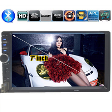 7 inch 2 DIN Touch Screen Universal In Dash Car Radio Stereo Head Unit MP5 MP4 MP3 bluetooth Video Handsfree TF/USB for Samsung