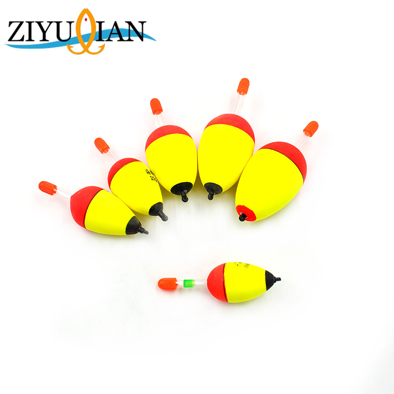 1Pcs Fishing Float 1.8g-4.2g High Quality EVA Luminous Float Fish Bait for Sea Fishing Carp Fishing Tackle Accessories Plastic 2017 hot fishing bait cage carp fishing accessories swivel with line hooks for fishing tackle free shipping