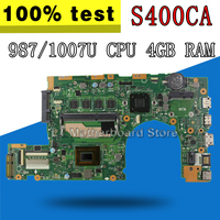 S400CA Motherboard 987 / 1007 CPU 4GB RAM For ASUS S400C S500CA Laptop motherboard S400CA Mainboard S400CA Motherboard test OK