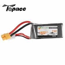 Rechargeable Lipo Batterie XF Puissance 18.5 V 1500 mah 75C 5S Lipo Batterie SY60 Plug