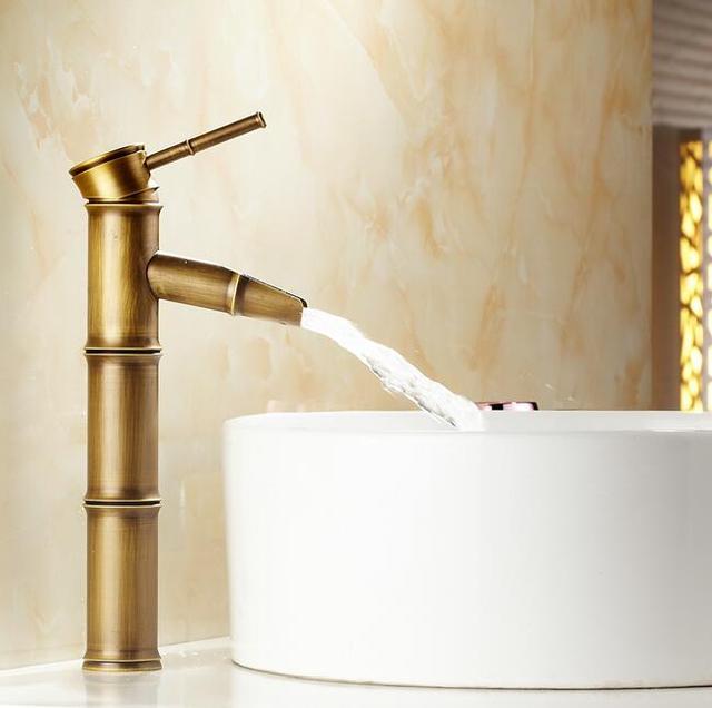 Free Shipping Bathroom Tap Bath Faucets Tap Toilet Antique Bronze - Bronze finish bathroom faucets