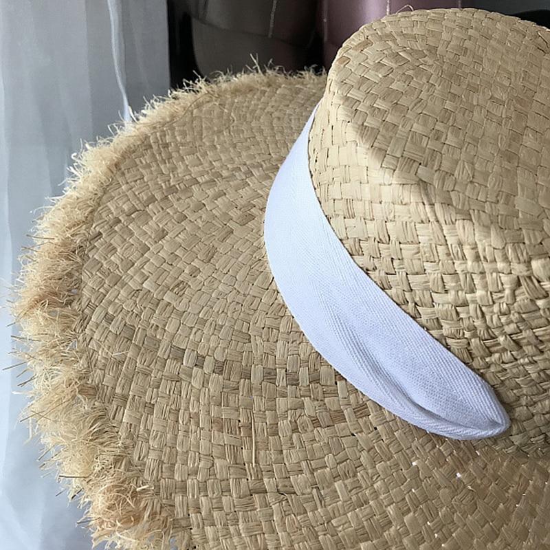 Chapéu de praia de verão chapéu de