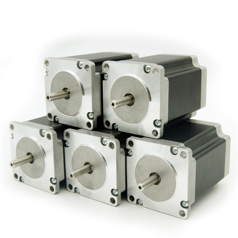 5pcs 4 lead Nema23 stepper motor 57HS76A43006 57HS76A43008 2 1N m 300oz in 3 0A motor