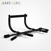 Door Pull Up Bar for Home Gym Body Workout Exercise Strength Fitness Equipment Carbon Steel Pipe Adjustable Bar 200kg Bearing